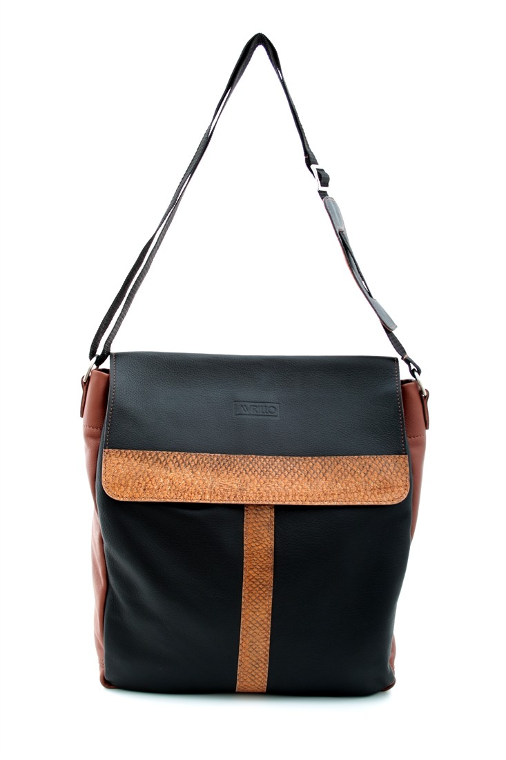 Shopper Black-Toffee Vorderansicht