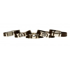 Armband Yara chocolate