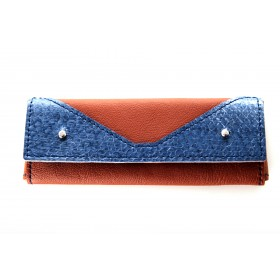 Leder-Etui Skripta Blue Earth