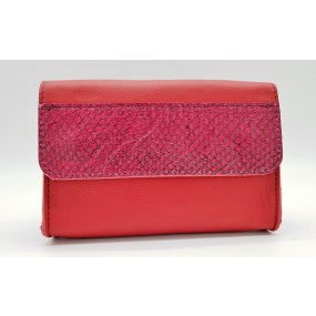 Beltissimo Red Berry Clutch Vorderseite