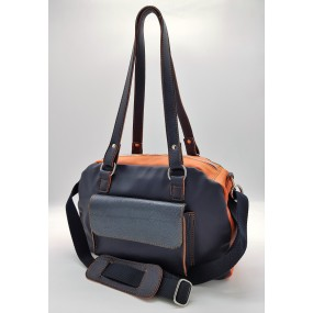 Sportivo Zina Blue Orange Schultertasche